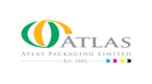 Logo for Atlas Packaging corrugated cardboard company based in Barnstaple
